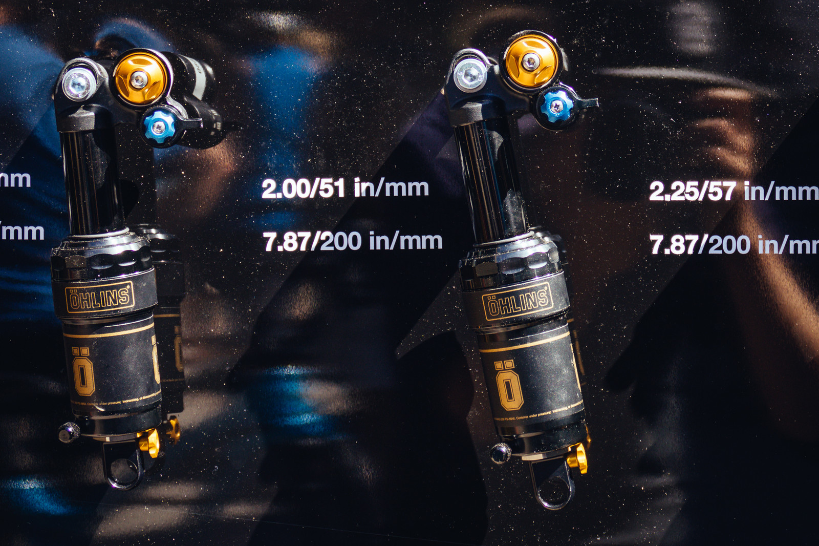 Öhlins STX 22 Air Shock for the Masses - PIT BITS - New 2017 Products from Crankworx Whistler - Mountain Biking Pictures - Vital MTB