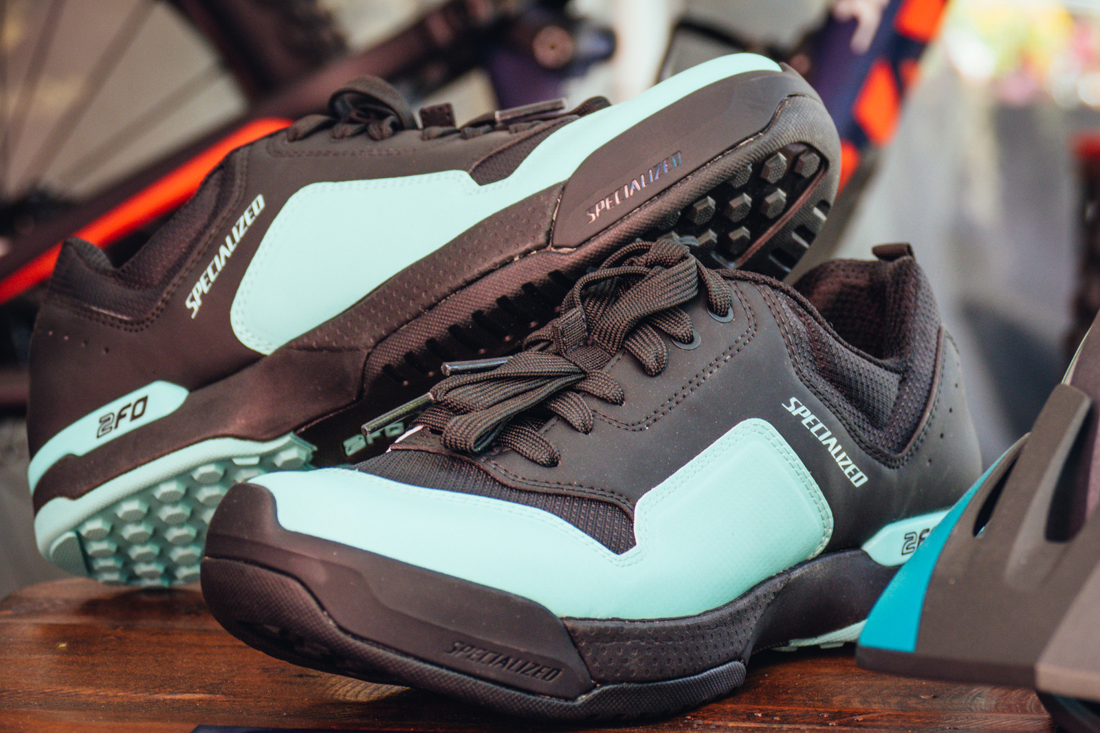 Women's Specialized 2FO Cliplite Shoes - PIT BITS - New 2017 Products from Crankworx Whistler - Mountain Biking Pictures - Vital MTB