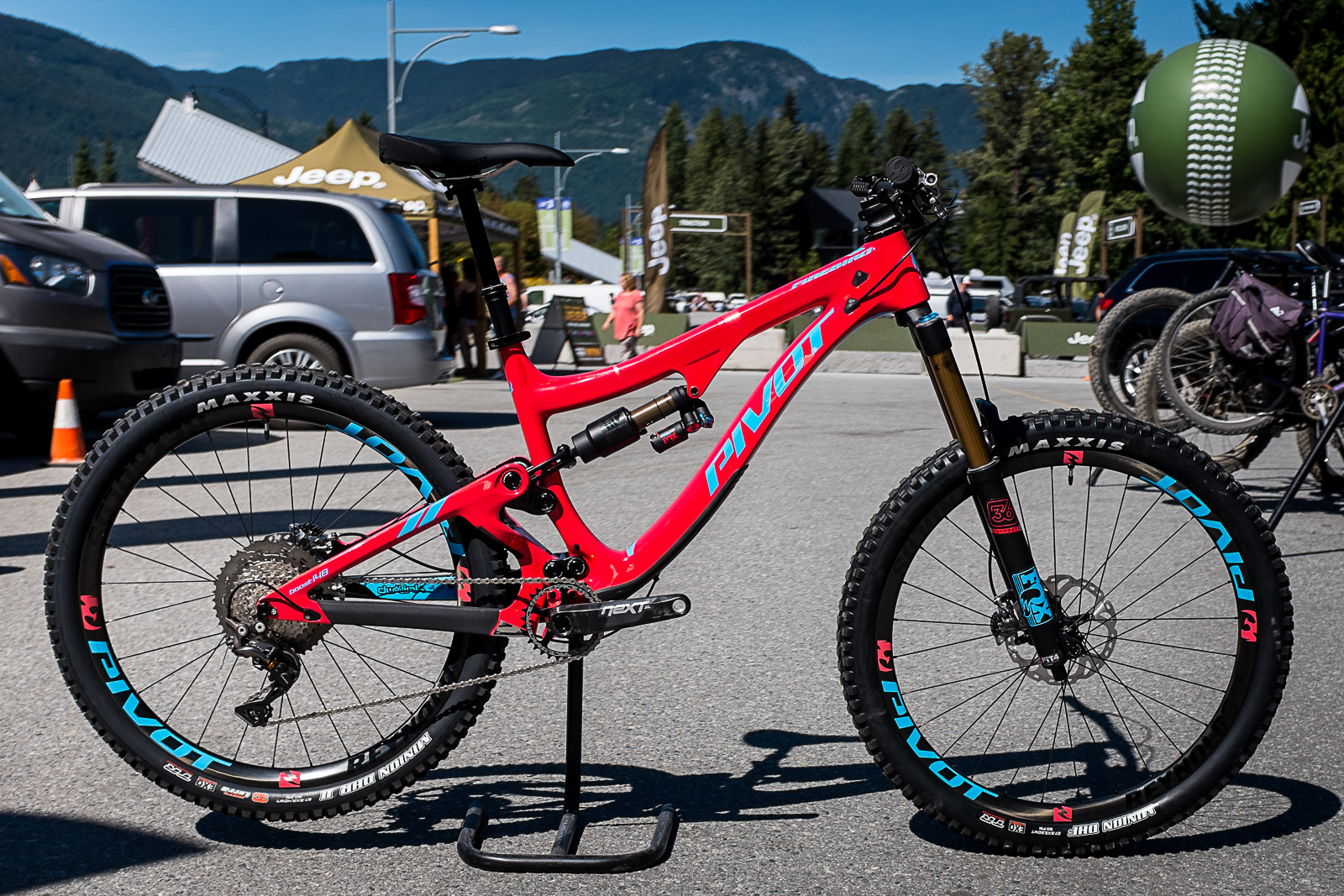 All-New 2017 Pivot Cycles Firebird - PIT BITS - New 2017 Products from Crankworx Whistler - Mountain Biking Pictures - Vital MTB