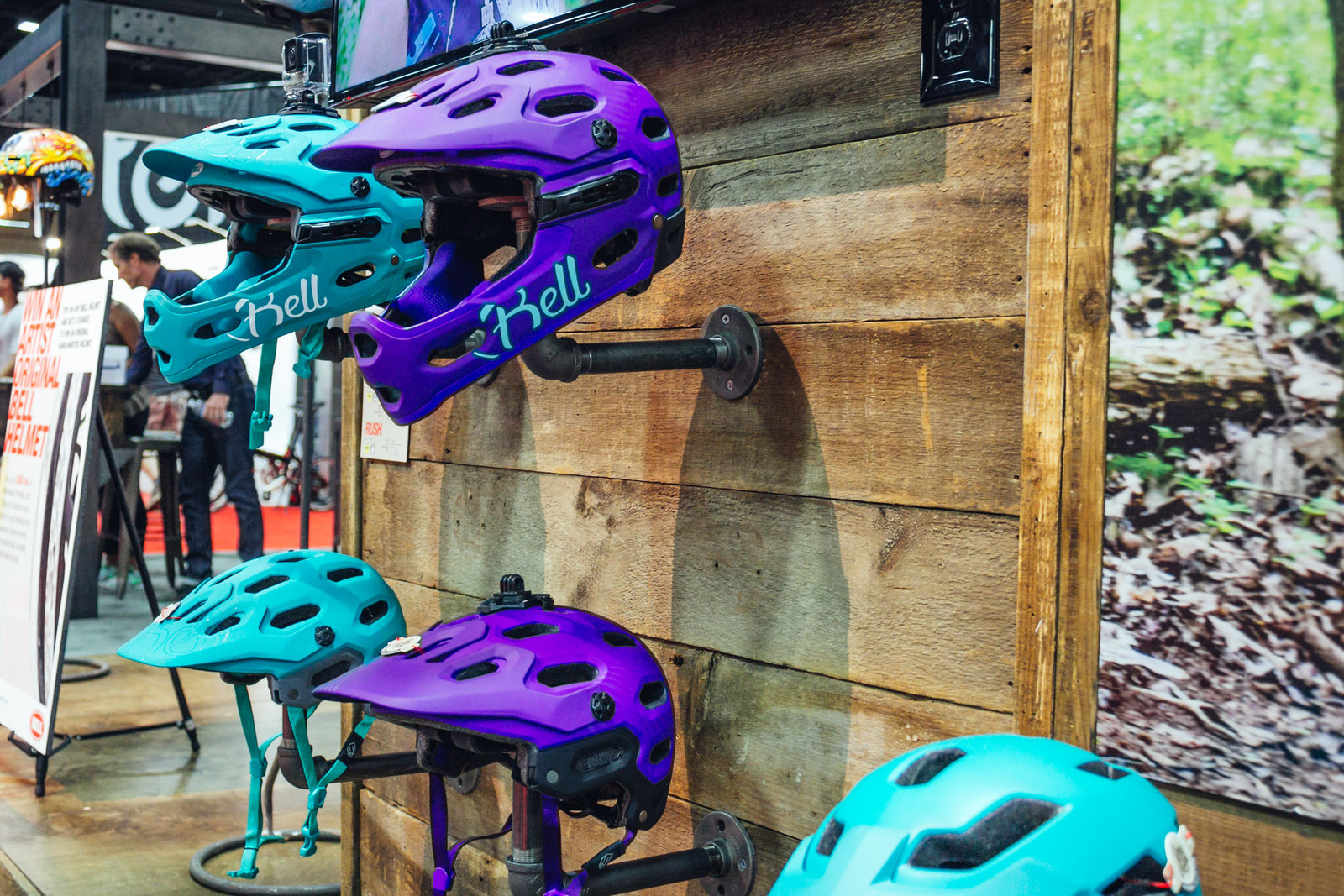 2017 Bell Joy Ride Women's Collection Super 3 and Super 3R Helmets - INTERBIKE - 2017 Women's Mountain Bike Gear - Mountain Biking Pictures - Vital MTB