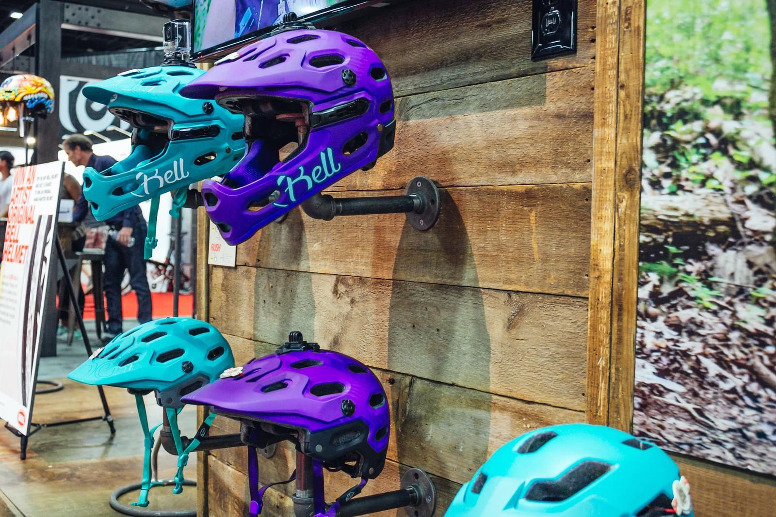 2017 Bell Joy Ride Women's Collection Super 3 and Super 3R Helmets - INTERBIKE - 2017 Women's Mountain Bike Gear - Mountain Biking Pictures - Vital MTB