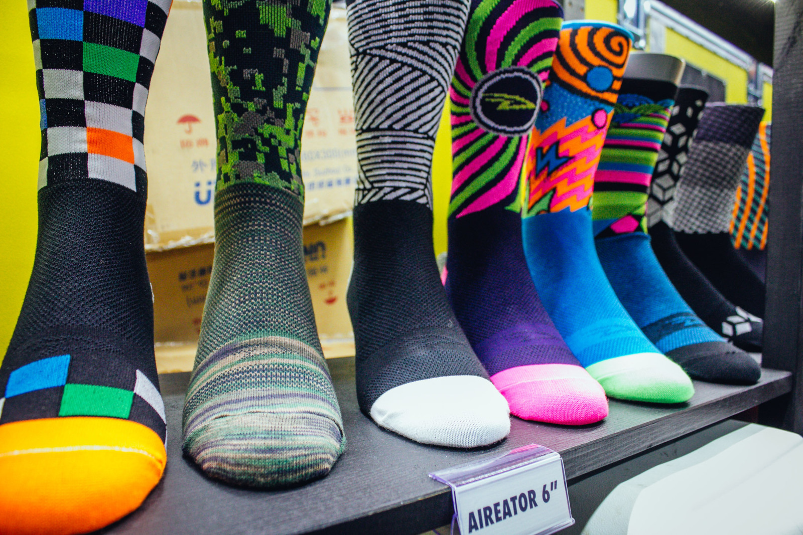 DeFeet Socks Made from Bottles - INTERBIKE - 2017 Women's Mountain Bike Gear - Mountain Biking Pictures - Vital MTB