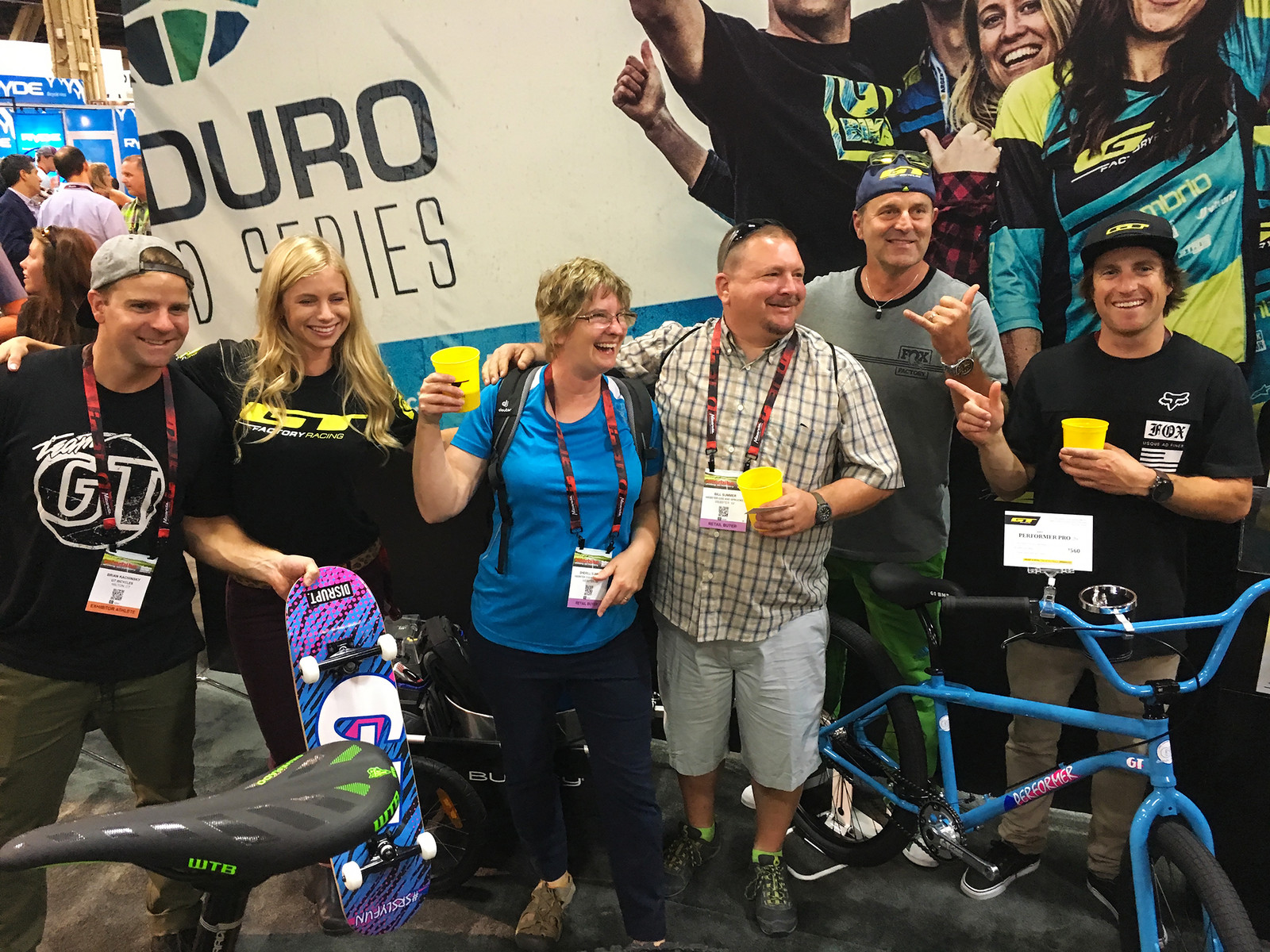 GT Says Fun is Serious Business! - INTERBIKE - 2017 Women's Mountain Bike Gear - Mountain Biking Pictures - Vital MTB