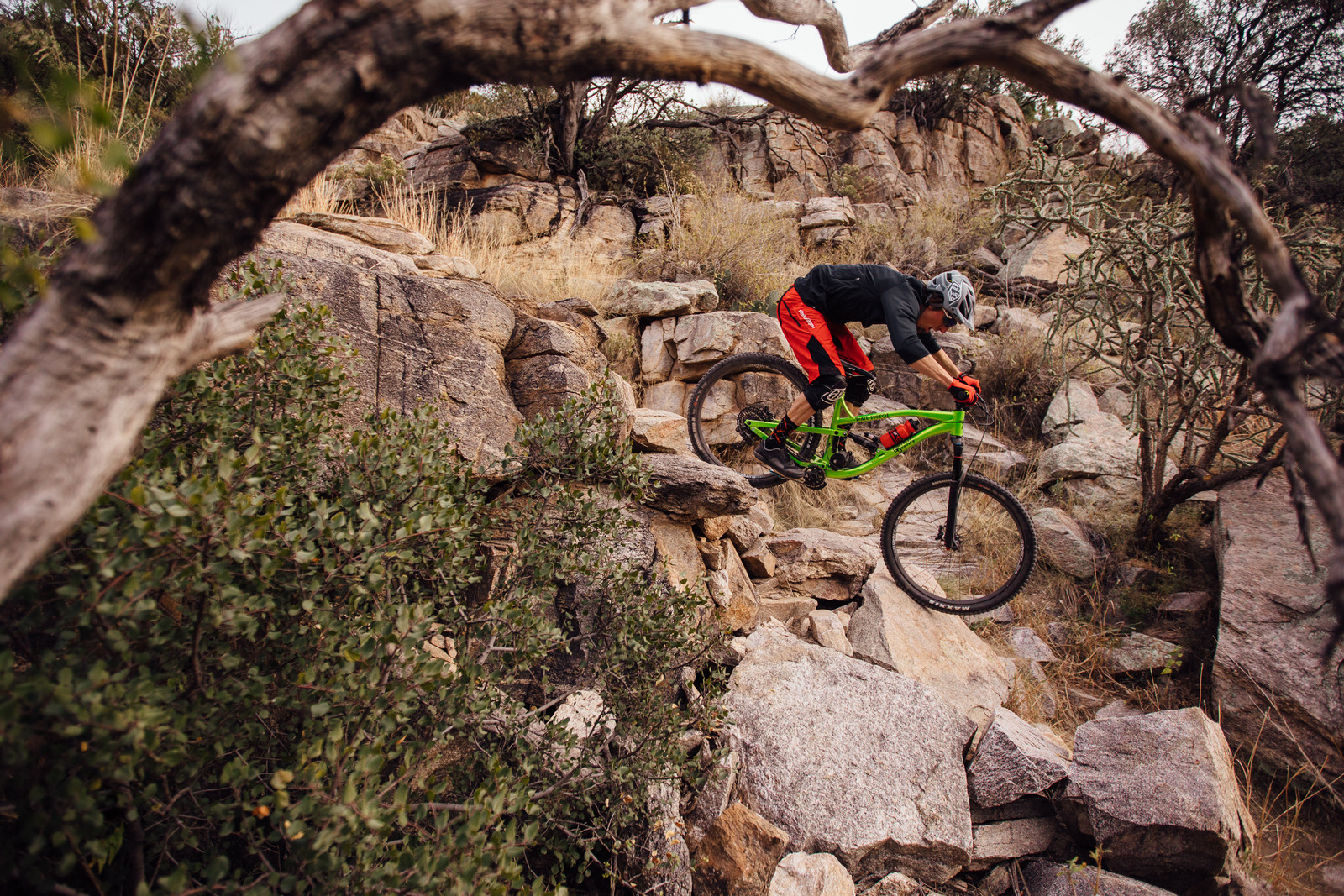 The Waterfall - Just The Bangers - 2017 Vital MTB Test Sessions Photo Gallery - Mountain Biking Pictures - Vital MTB