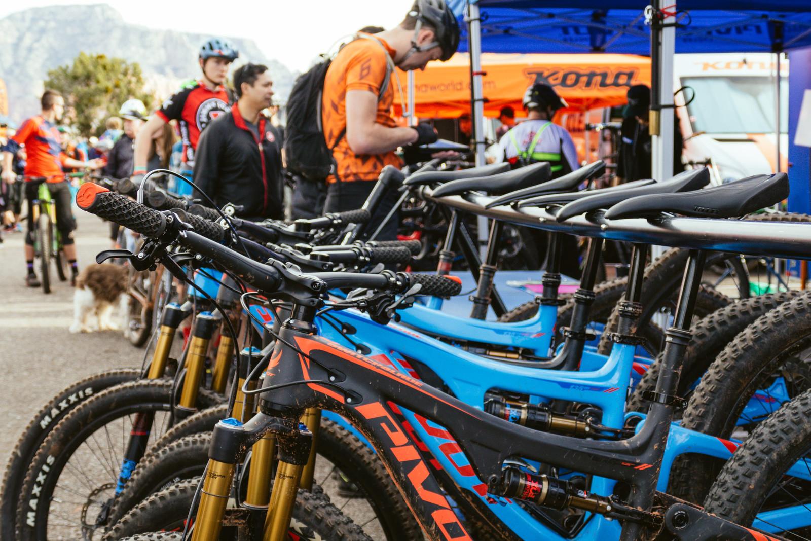 Pivot's Lineup - PIT BITS - Fresh Products from the Sedona Mountain Bike Festival - Mountain Biking Pictures - Vital MTB