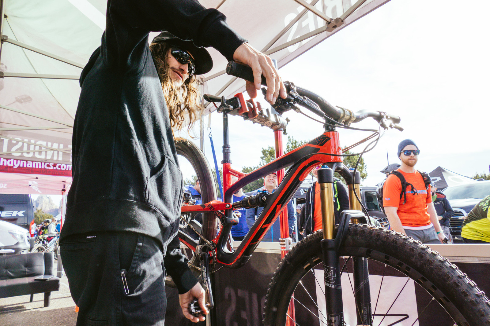 YT in the House! - PIT BITS - Fresh Products from the Sedona Mountain Bike Festival - Mountain Biking Pictures - Vital MTB
