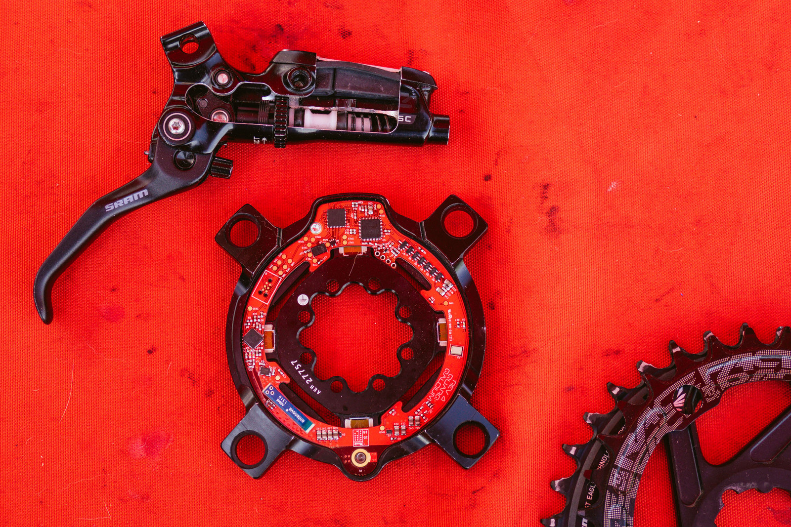 Inside SRAM's Brakes and Quarq's Power Meter - PIT BITS - Fresh Products from the Sedona Mountain Bike Festival - Mountain Biking Pictures - Vital MTB