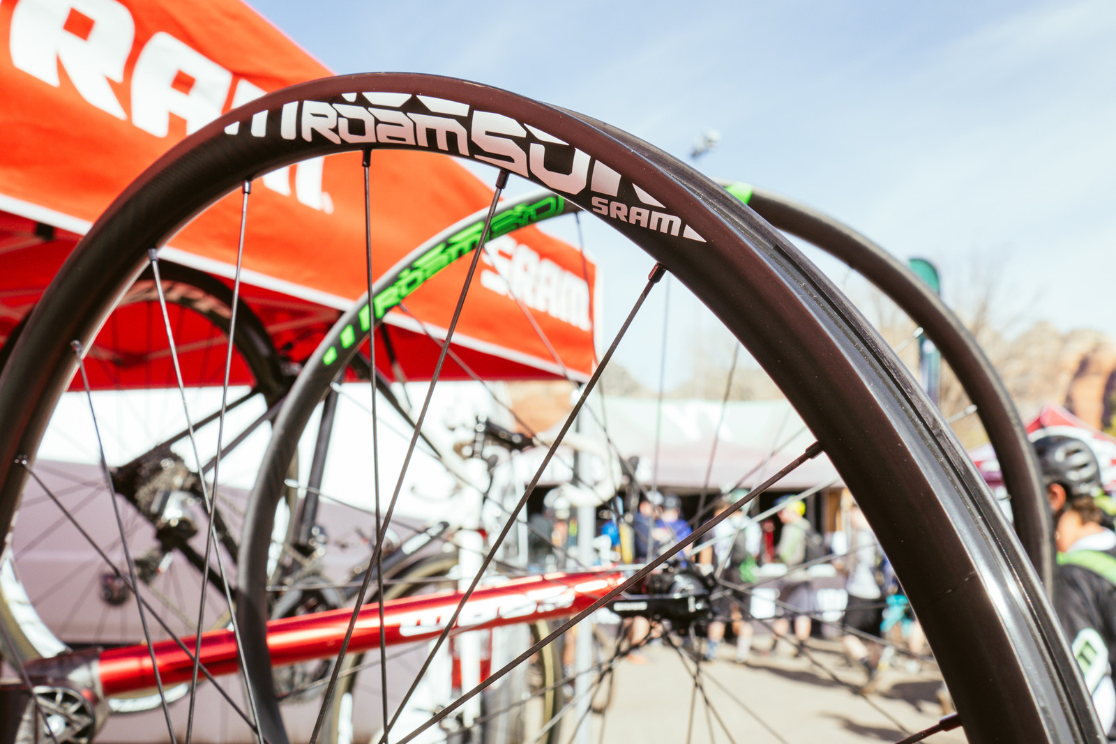 SRAM's New Roam 50 Carbon Wheels - PIT BITS - Fresh Products from the Sedona Mountain Bike Festival - Mountain Biking Pictures - Vital MTB