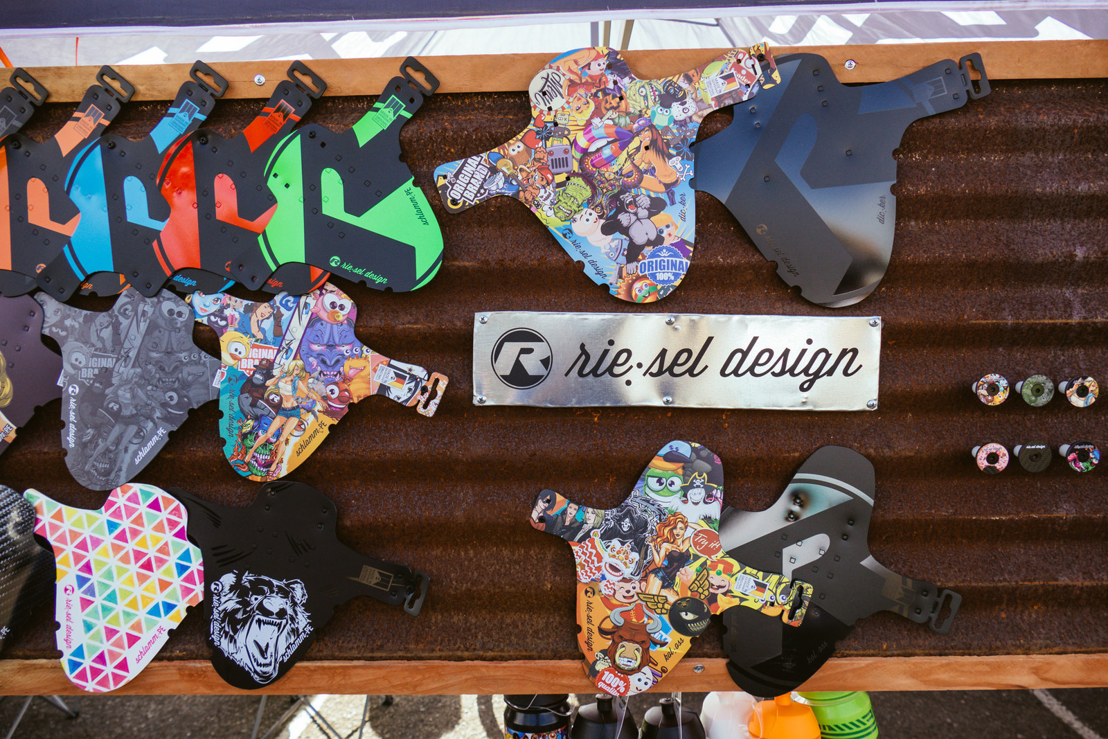 Riesel Design Fenders - PIT BITS - Fresh Products from the Sedona Mountain Bike Festival - Mountain Biking Pictures - Vital MTB