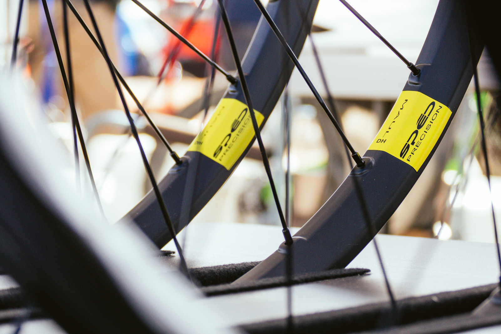 Spēd Precision Maul DH and Trail Carbon Wheels - PIT BITS - Fresh Products from the Sedona Mountain Bike Festival - Mountain Biking Pictures - Vital MTB