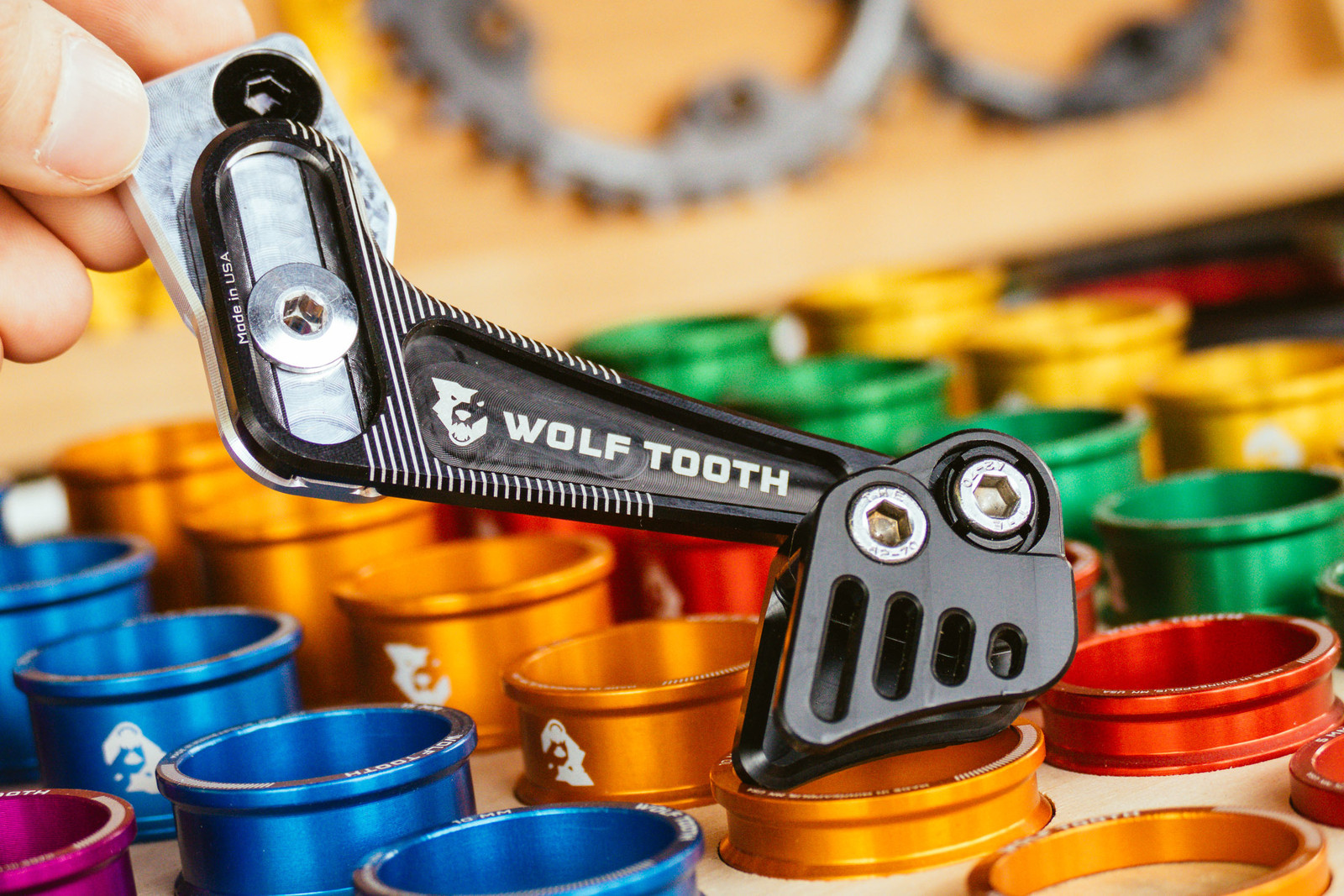 Fresh Goods from Wolf Tooth Components - PIT BITS - Fresh Products from the Sedona Mountain Bike Festival - Mountain Biking Pictures - Vital MTB