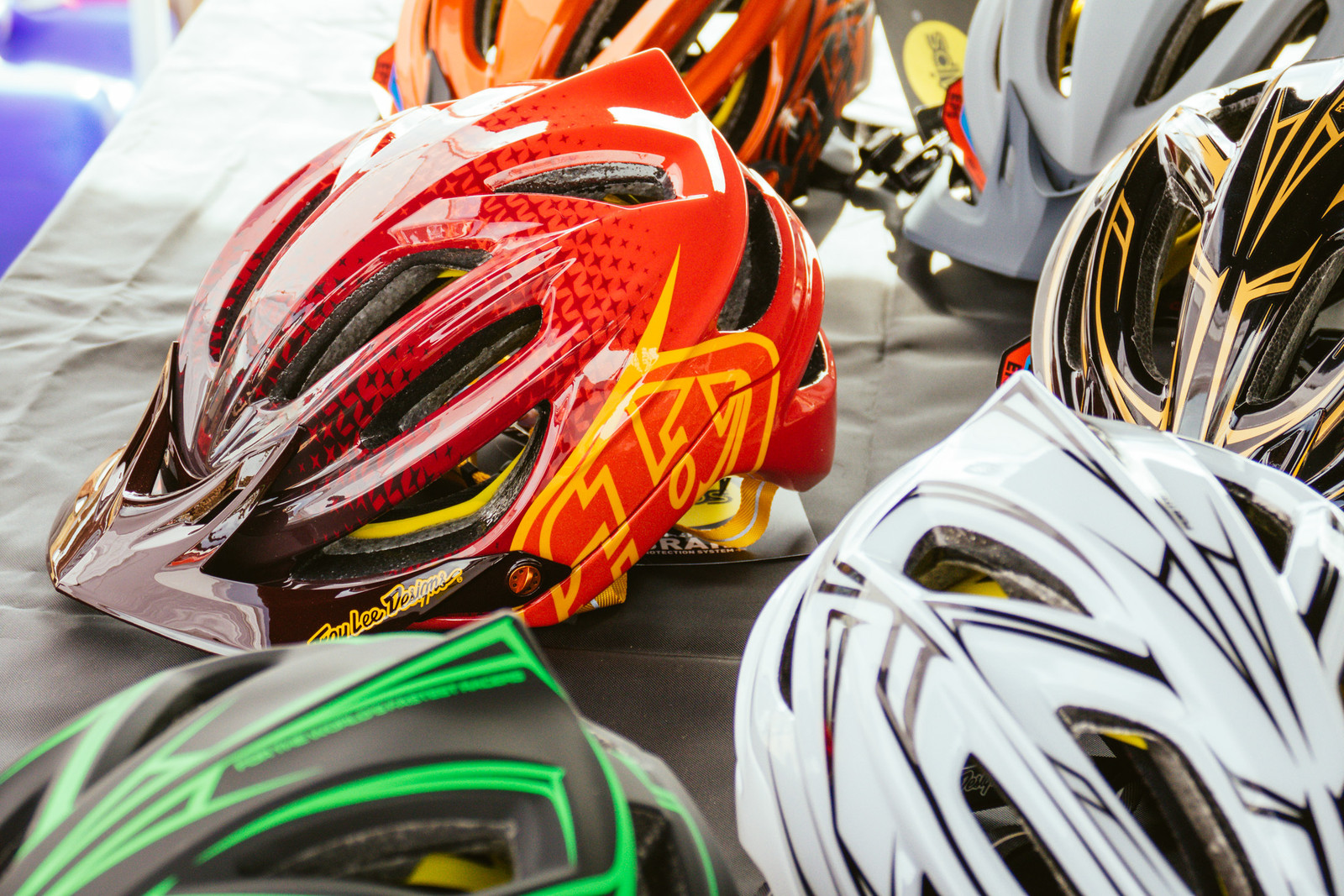Troy Lee Designs A2 Helmet - PIT BITS - Fresh Products from the Sedona Mountain Bike Festival - Mountain Biking Pictures - Vital MTB