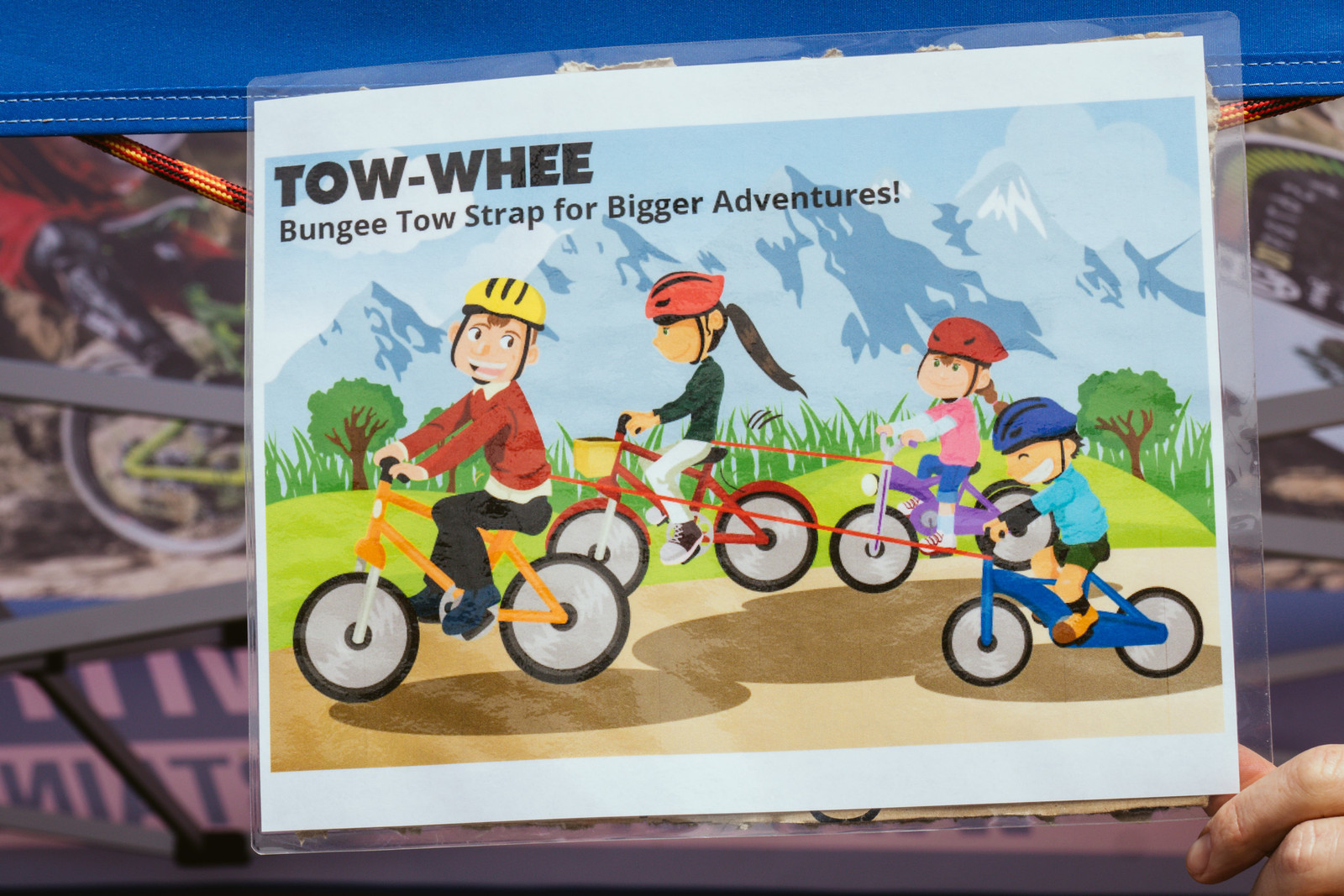 Tow-Whee Bungee for the Kids - PIT BITS - Fresh Products from the Sedona Mountain Bike Festival - Mountain Biking Pictures - Vital MTB
