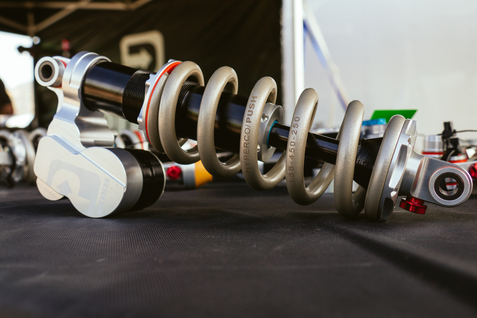 PUSH ElevenSix Shocks for All - PIT BITS - Fresh Products from the Sedona Mountain Bike Festival - Mountain Biking Pictures - Vital MTB
