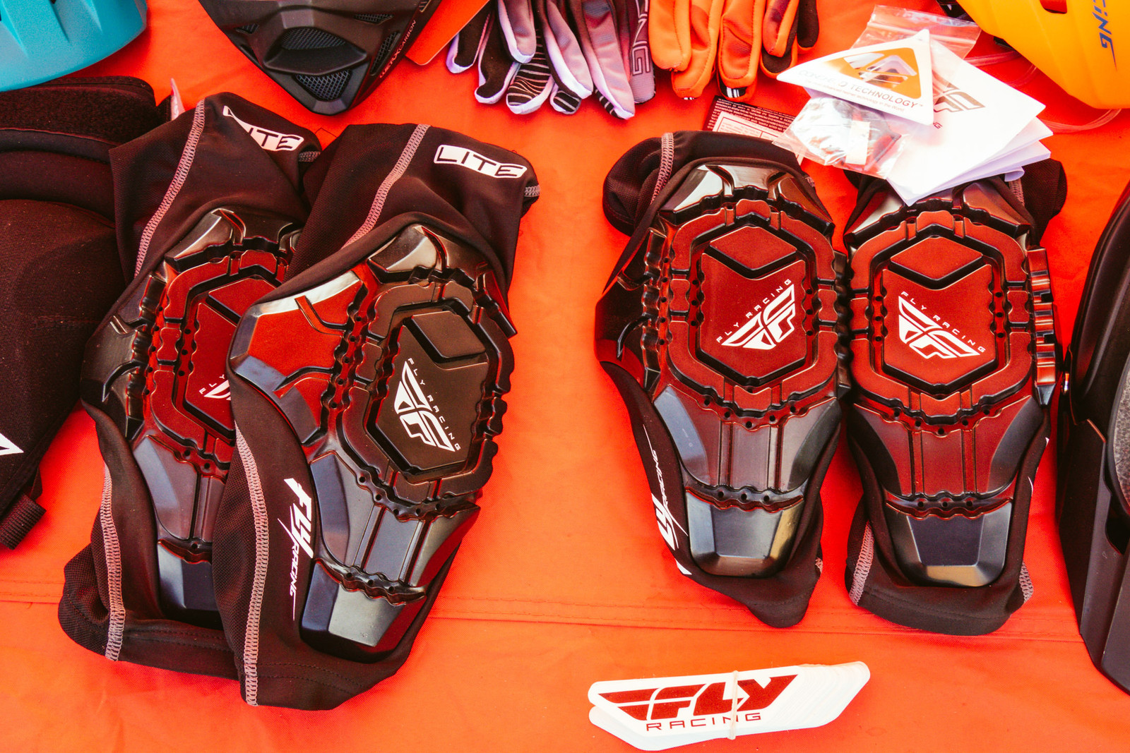 Fly Racing Lite Knee and Elbow Guards - PIT BITS - Fresh Products from the Sedona Mountain Bike Festival - Mountain Biking Pictures - Vital MTB