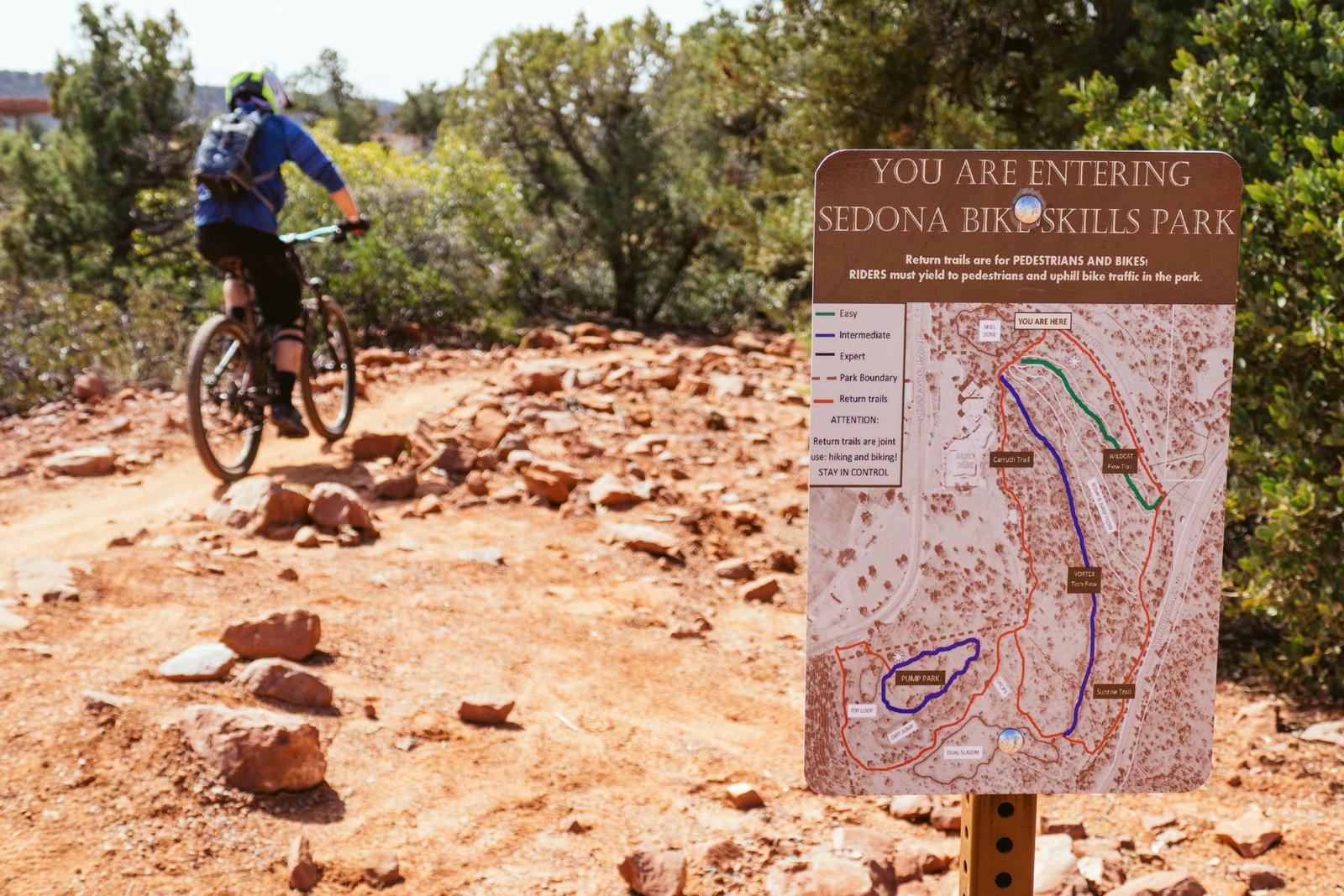Sedona Bike Skills Park NOW OPEN! - PIT BITS - Fresh Products from the Sedona Mountain Bike Festival - Mountain Biking Pictures - Vital MTB