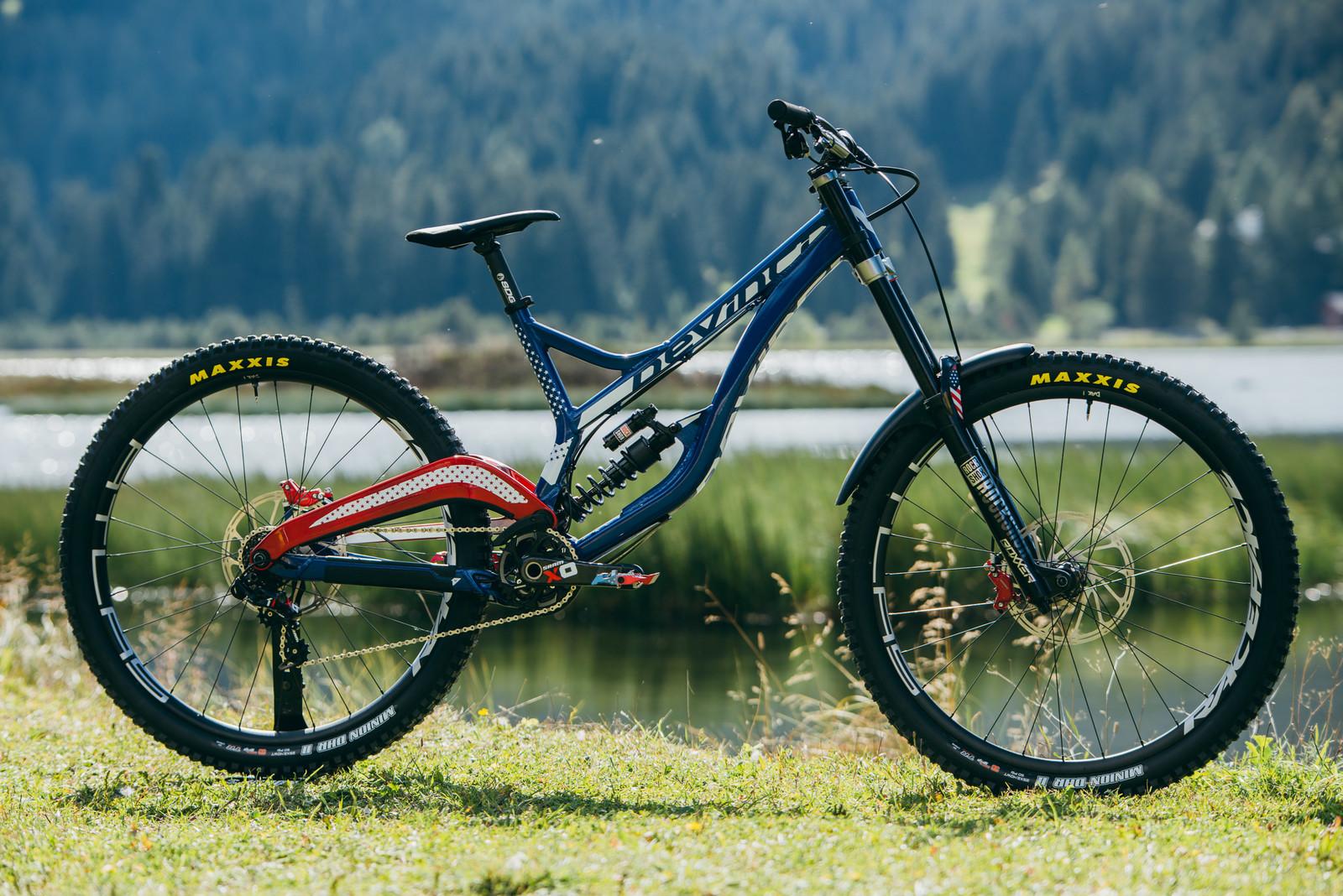 Dak's Devinci Wilson 29 - WORLD CHAMPS BIKES - Unior/Devinci Factory Racing - Mountain Biking Pictures - Vital MTB