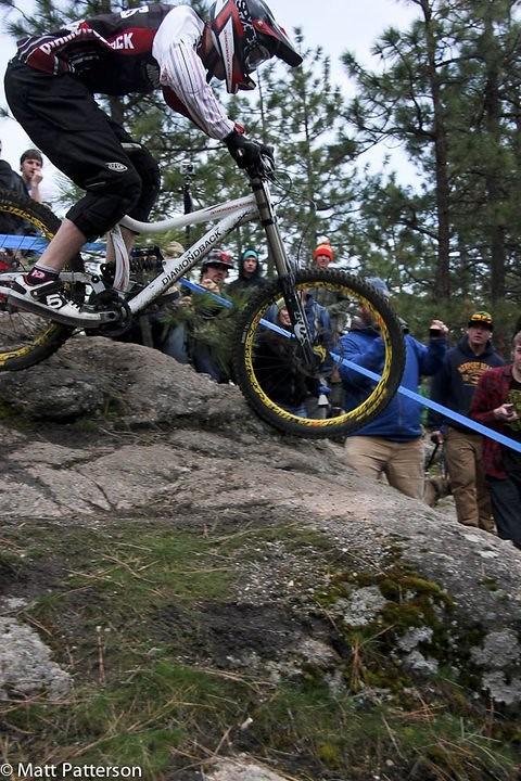 Prototype Diamondback DH Bike - bturman - Mountain Biking Pictures - Vital MTB