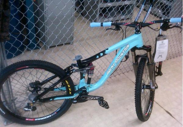 2011/2012 Rocky Mountain Slopestyle Prototype - bturman - Mountain Biking Pictures - Vital MTB