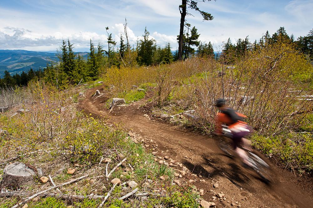 Enjoy the View - Oregon Super D Race #1: Hood River - Mountain Biking Pictures - Vital MTB