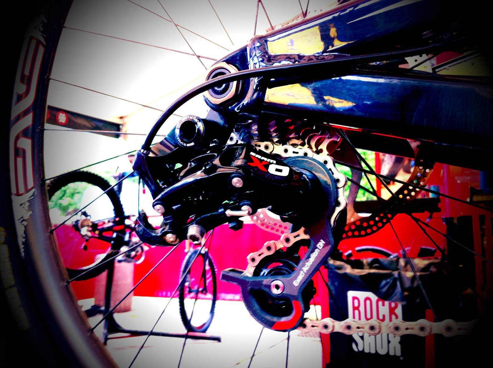 SRAM X0 DH Derailleur  - 2012 Prototypes and Sneak Peaks - Mountain Biking Pictures - Vital MTB
