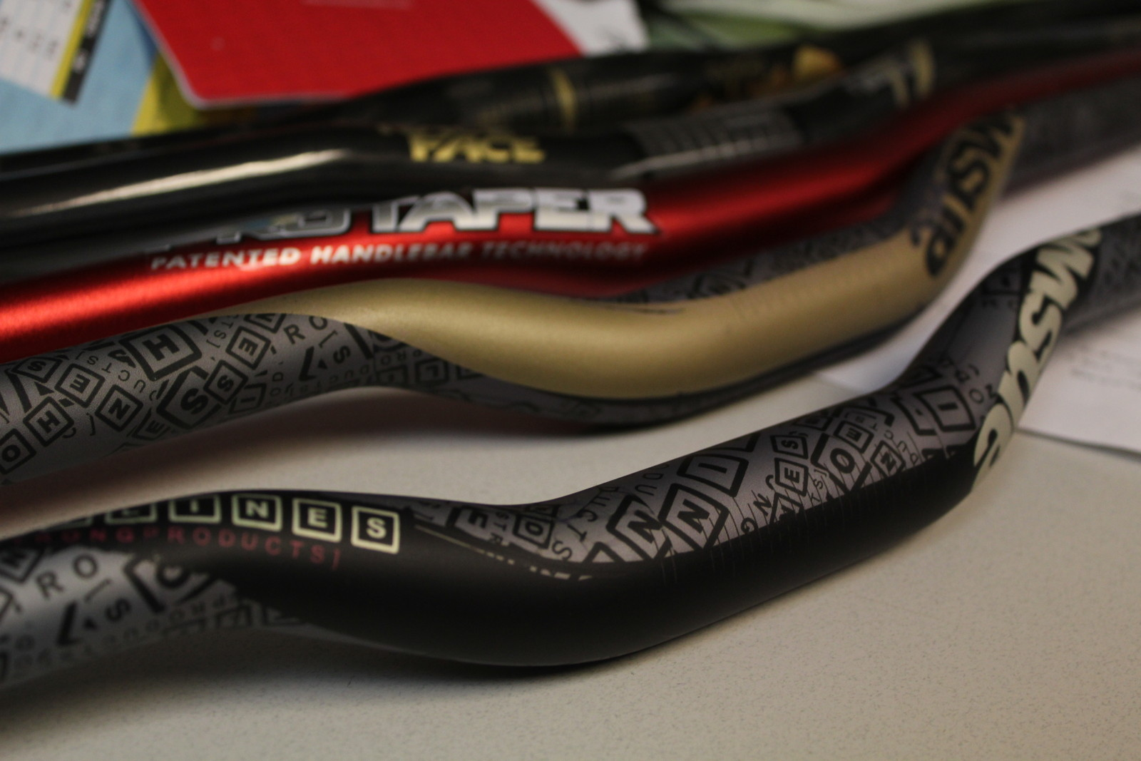Prototype Answer Bars - Hayes Components Factory Tour - Mountain Biking Pictures - Vital MTB