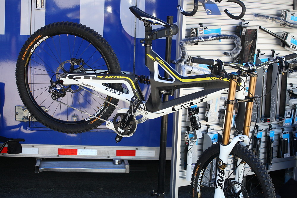 Team Atherton's GT Fury - Sea Otter Classic Pit Bits - Day 4 - Mountain Biking Pictures - Vital MTB