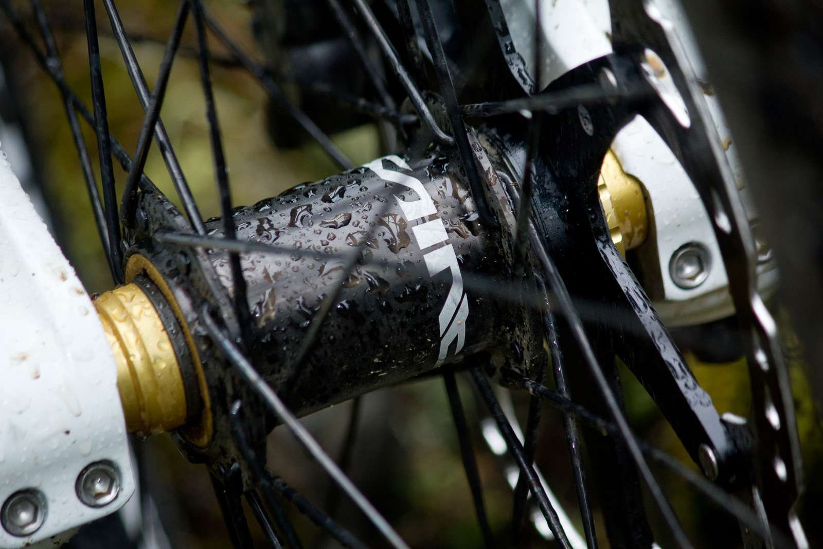 Shimano Saint HB-M820 Front Hub - First Look: Vital's Pre-Production Shimano Saint Equipped V-10 Carbon - Mountain Biking Pictures - Vital MTB