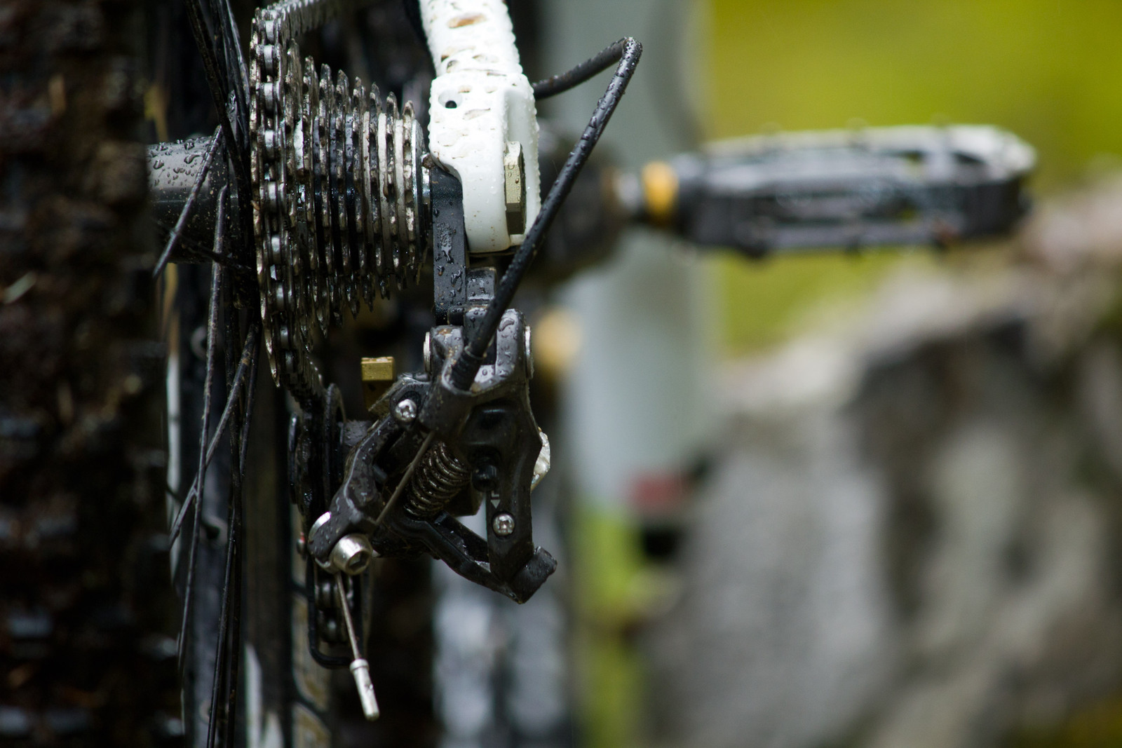 Shimano Saint M820 Cassette - First Look: Vital's Pre-Production Shimano Saint Equipped V-10 Carbon - Mountain Biking Pictures - Vital MTB