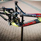 Limited Edition 2013 Specialized / Troy Lee Designs S-Works Demo 8 Carbon Frame