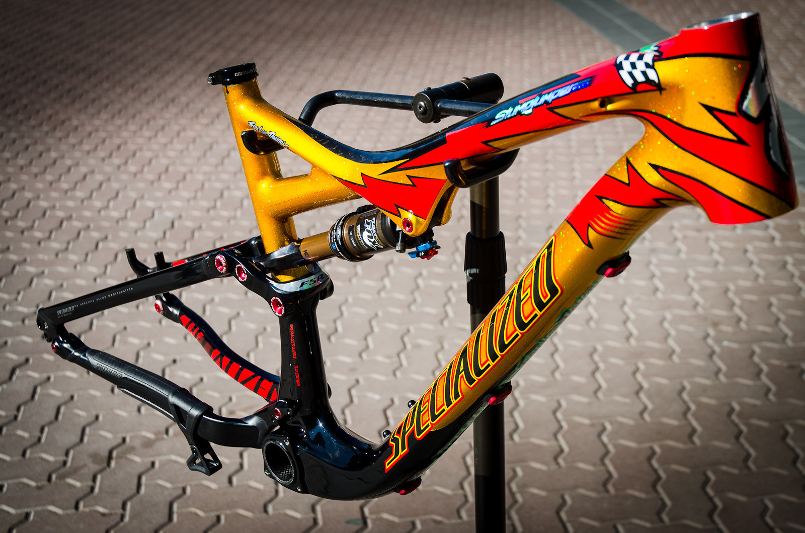 Limited Edition Specialized / Troy Lee Designs Stumpjumper Expert Carbon EVO - First Look: Limited Edition 2013 Specialized / Troy Lee Designs Frames - Mountain Biking Pictures - Vital MTB
