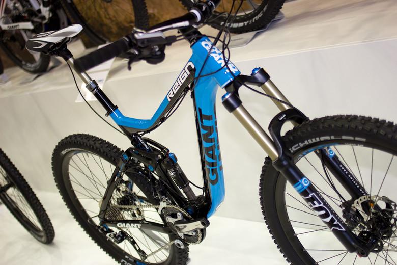 1b6800d7b3c 2013 Giant Reign - 2013 All-Mountain and Trail Bikes at Eurobike 2012 -  Mountain Biking Pictures - Vital MTB
