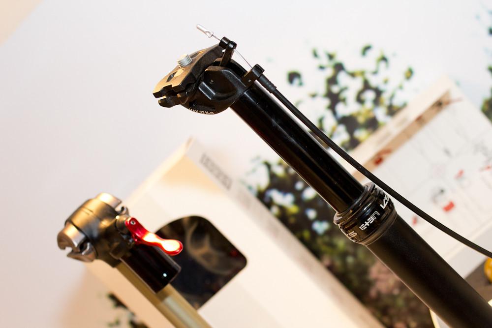 2013 KS E Ten Adjustable Seatpost - 2013 Mountain Bike Components at Eurobike 2012 - Mountain Biking Pictures - Vital MTB