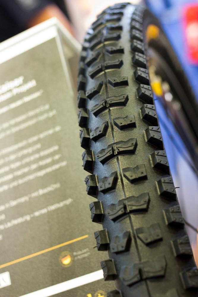 Continental Der Kaiser 2.4-Inch Downhill Tire - 2013 Mountain Bike Components at Eurobike 2012 - Mountain Biking Pictures - Vital MTB