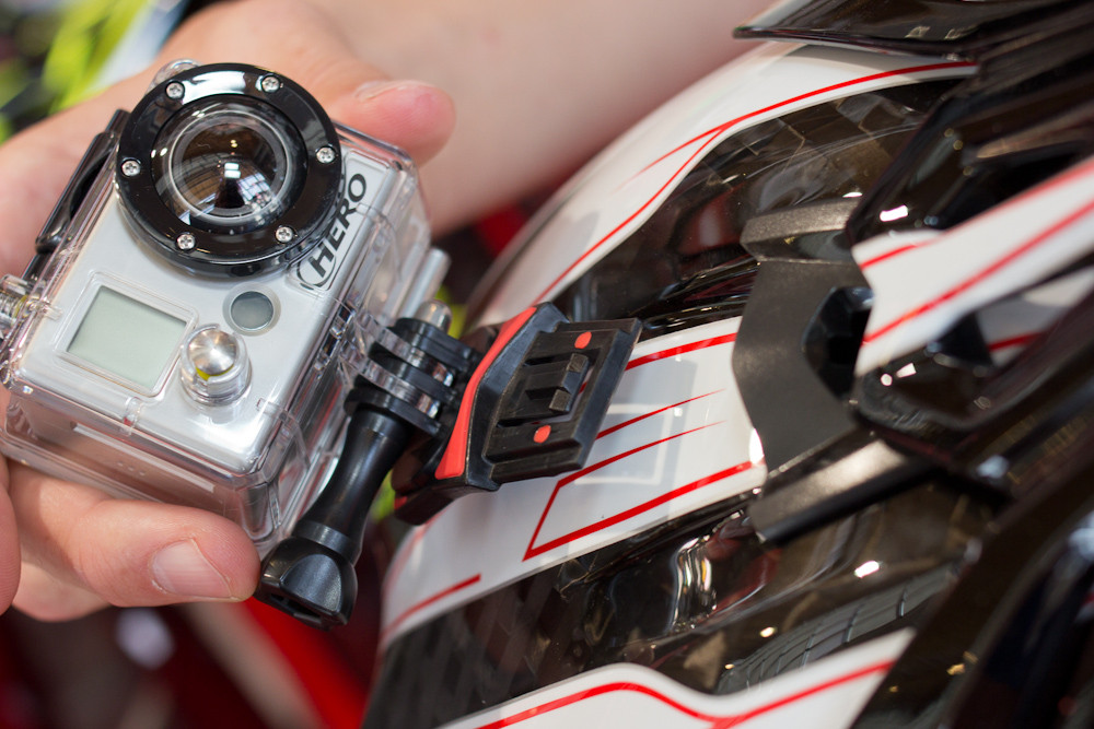2013 Bell Full-9 Camera Mount - 2013 Apparel and Protective Wear at Eurobike 2012 - Mountain Biking Pictures - Vital MTB