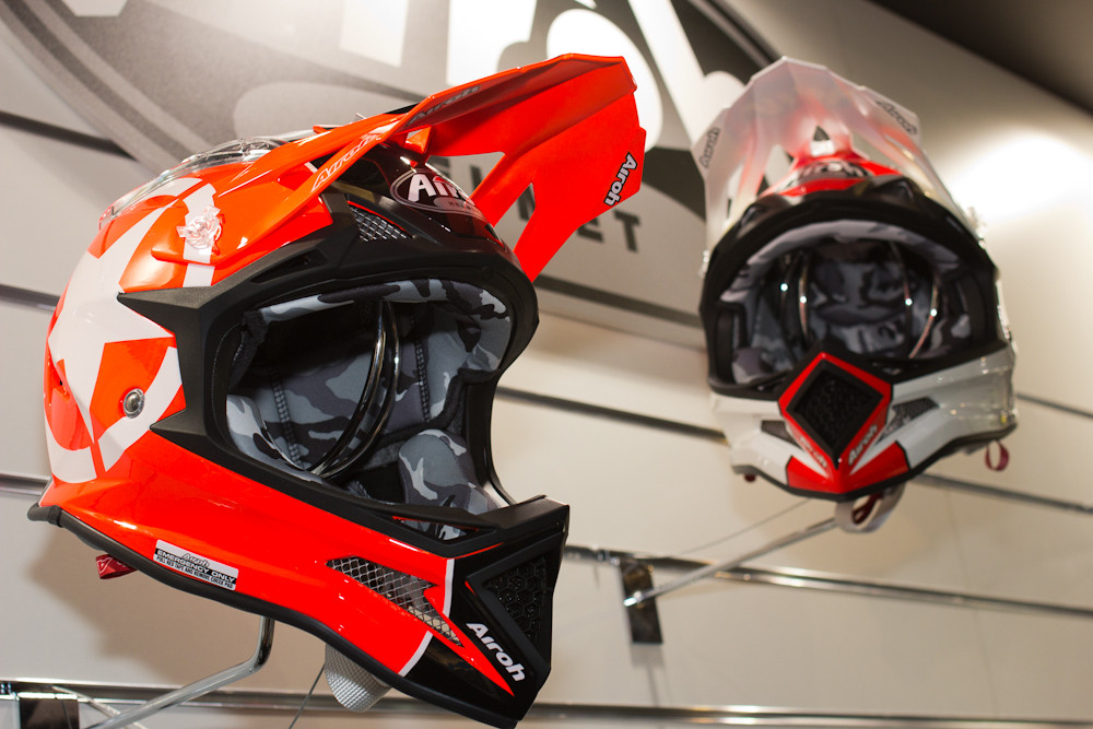 2013 Airoh Fighter Helmet - 2013 Apparel and Protective Wear at Eurobike 2012 - Mountain Biking Pictures - Vital MTB