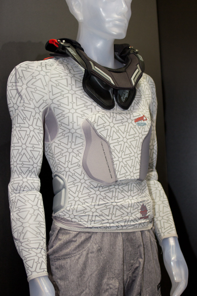 2013 Leatt 3DF Armor - 2013 Apparel and Protective Wear at Eurobike 2012 - Mountain Biking Pictures - Vital MTB
