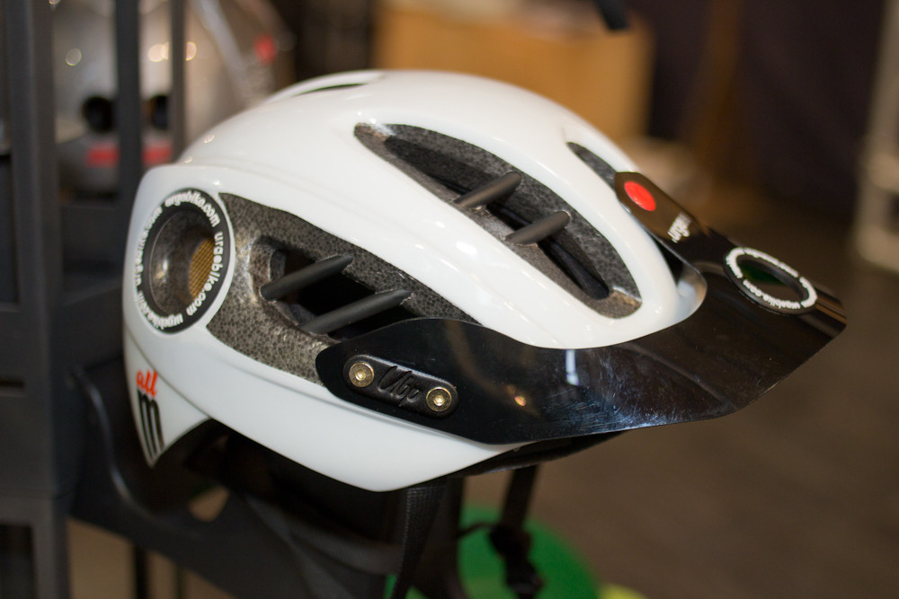 2013 Urge All M Helmet - 2013 Apparel and Protective Wear at Eurobike 2012 - Mountain Biking Pictures - Vital MTB
