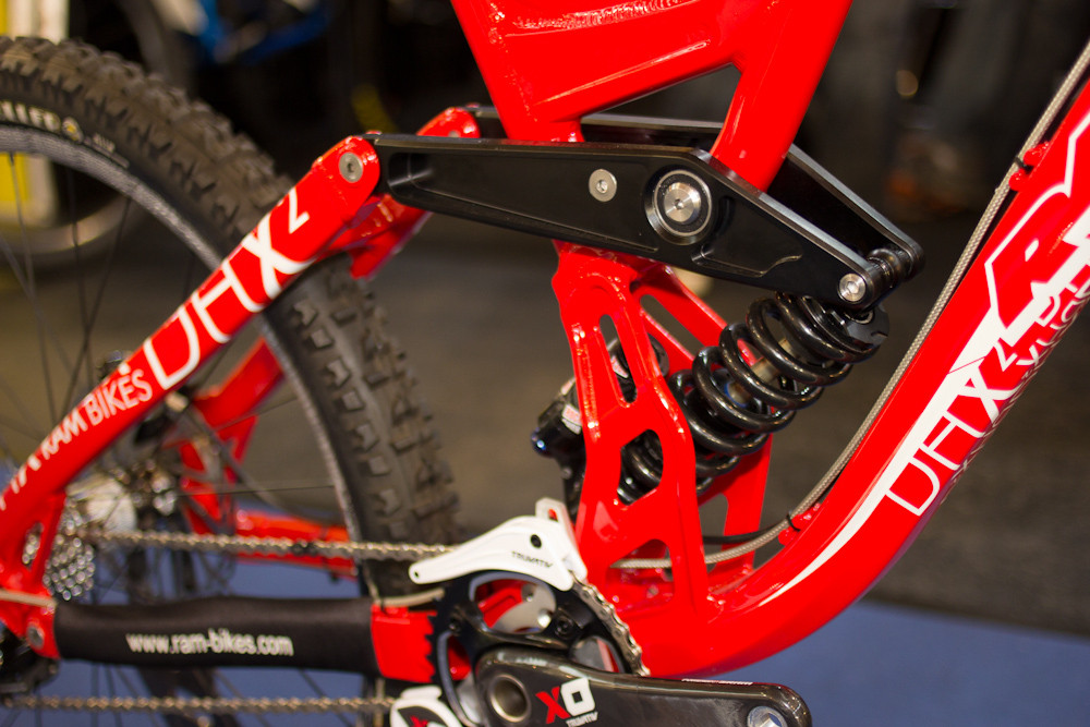 2013 Ram DHX2 Linkage - 2013 Downhill Bikes at Eurobike 2012 - Mountain Biking Pictures - Vital MTB