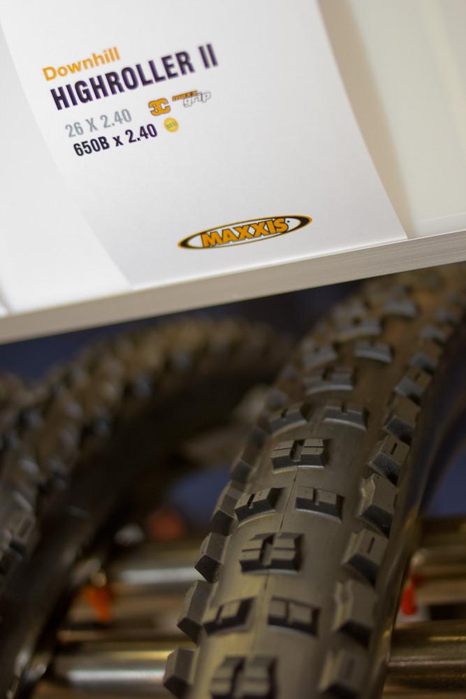 2013 Maxxis Highroller II 650b Tire - 2013 Mountain Bike Components at Eurobike 2012 - Mountain Biking Pictures - Vital MTB