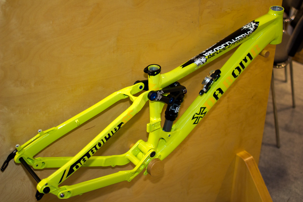 2013 Da Bomb Revolution - 2013 Dirt Jump, Slopestyle, and 4X Bikes at Eurobike 2012 - Mountain Biking Pictures - Vital MTB