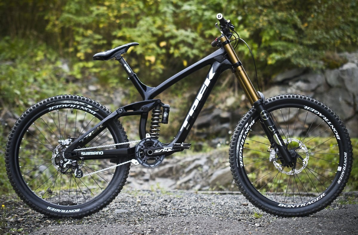 Is this the Sickest Custom Build Ever? Aaron Gwin's 2012 World Cup Champion Trek Session 9.9 - Aaron Gwin's 2012 World Cup Champion Trek Session 9.9 - Mountain Biking Pictures - Vital MTB