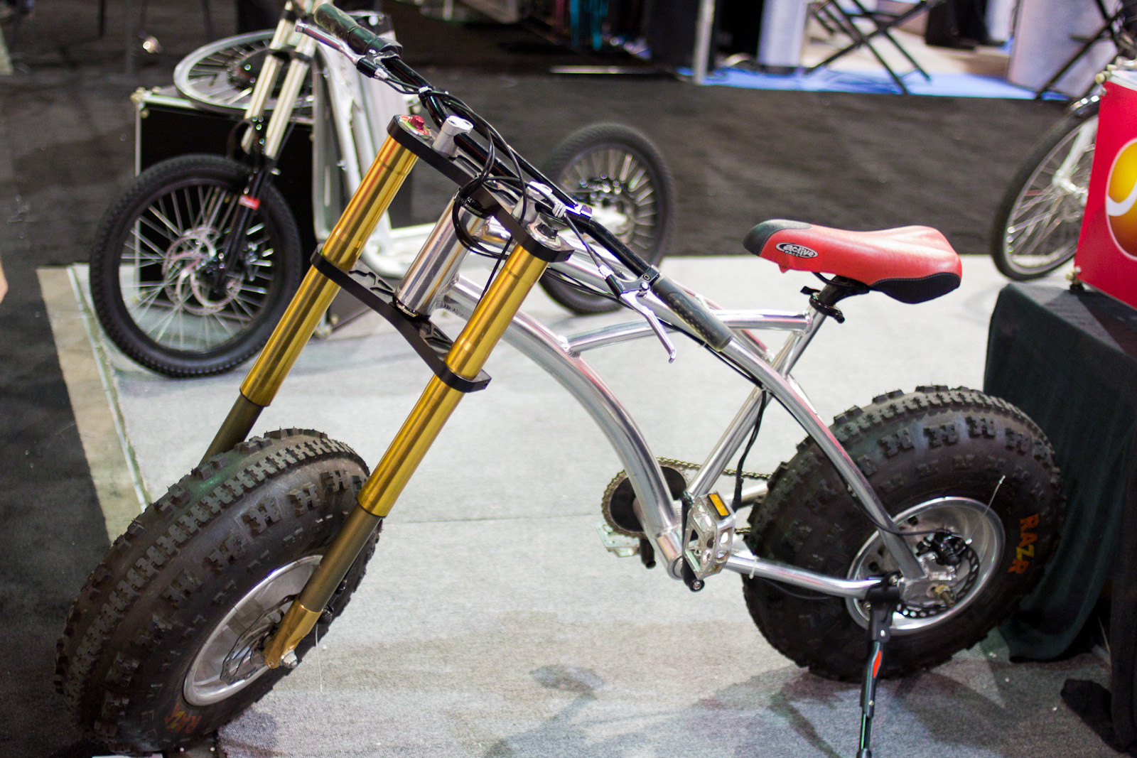 Watch Out Fat Bikes - Random, Wacky, and Weird from Interbike 2012  - Mountain Biking Pictures - Vital MTB