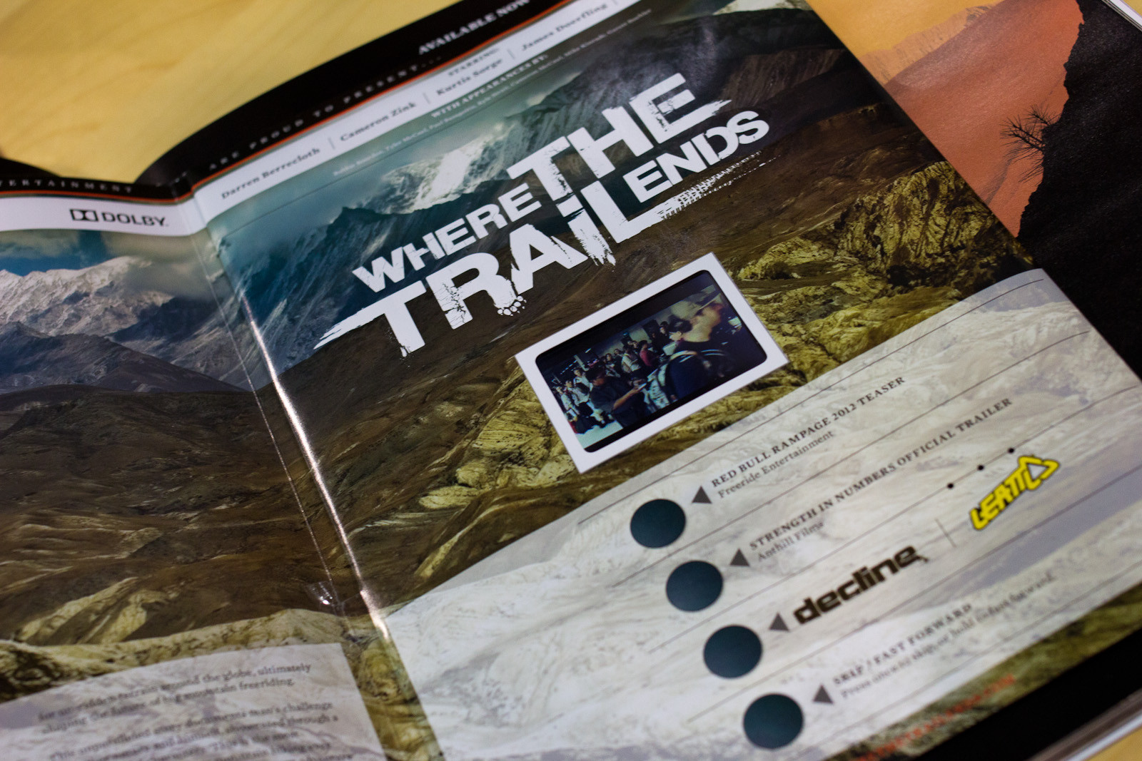 Movie In A Magazine? - Random, Wacky, and Weird from Interbike 2012  - Mountain Biking Pictures - Vital MTB