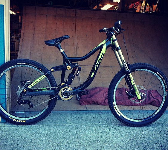 Red Bull Rampage Pro Bikes: What Would Have Been Graham Agassiz's Kona Supreme Operator - Sneak Peek: 2012 Red Bull Rampage Pro Bikes - Mountain Biking Pictures - Vital MTB