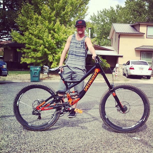 Red Bull Rampage Pro Bikes: Kenny Smith's Custom Tune