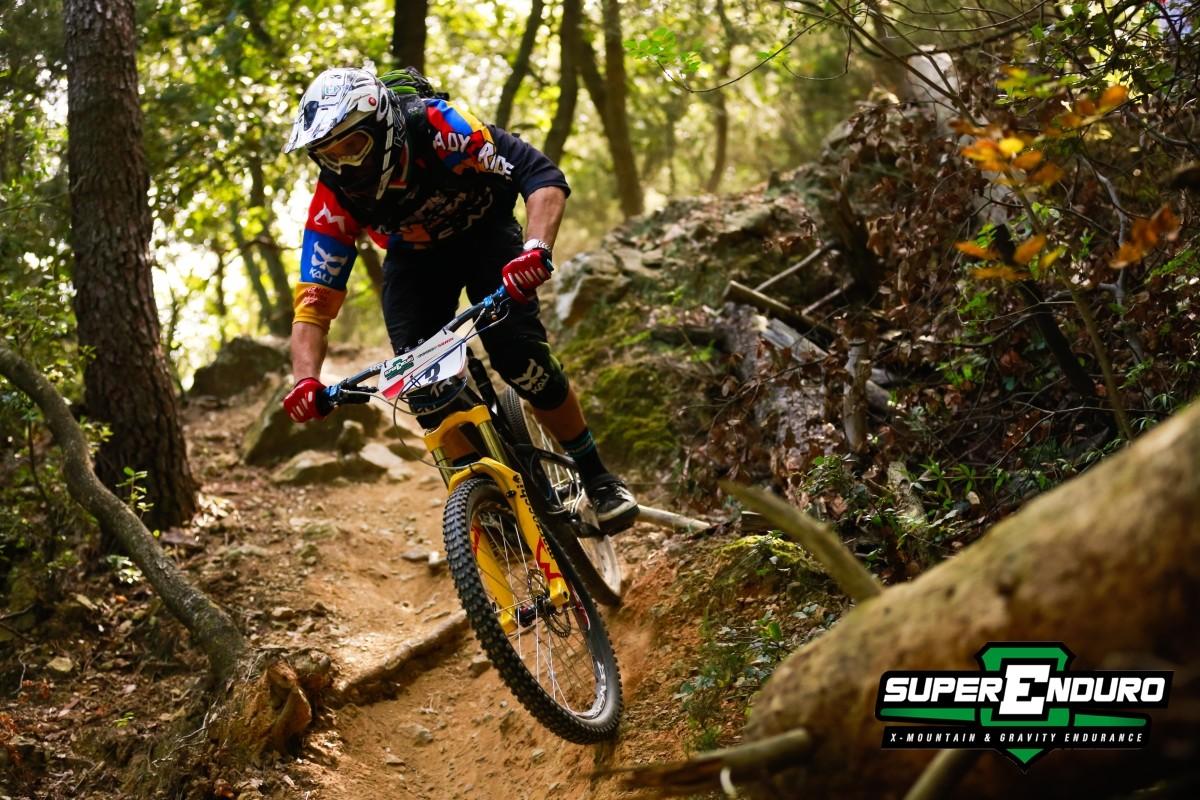 A Race Favorite - Andrea Bruno at Finale Ligure - Superenduro PRO6 at Finale Ligure - Mountain Biking Pictures - Vital MTB