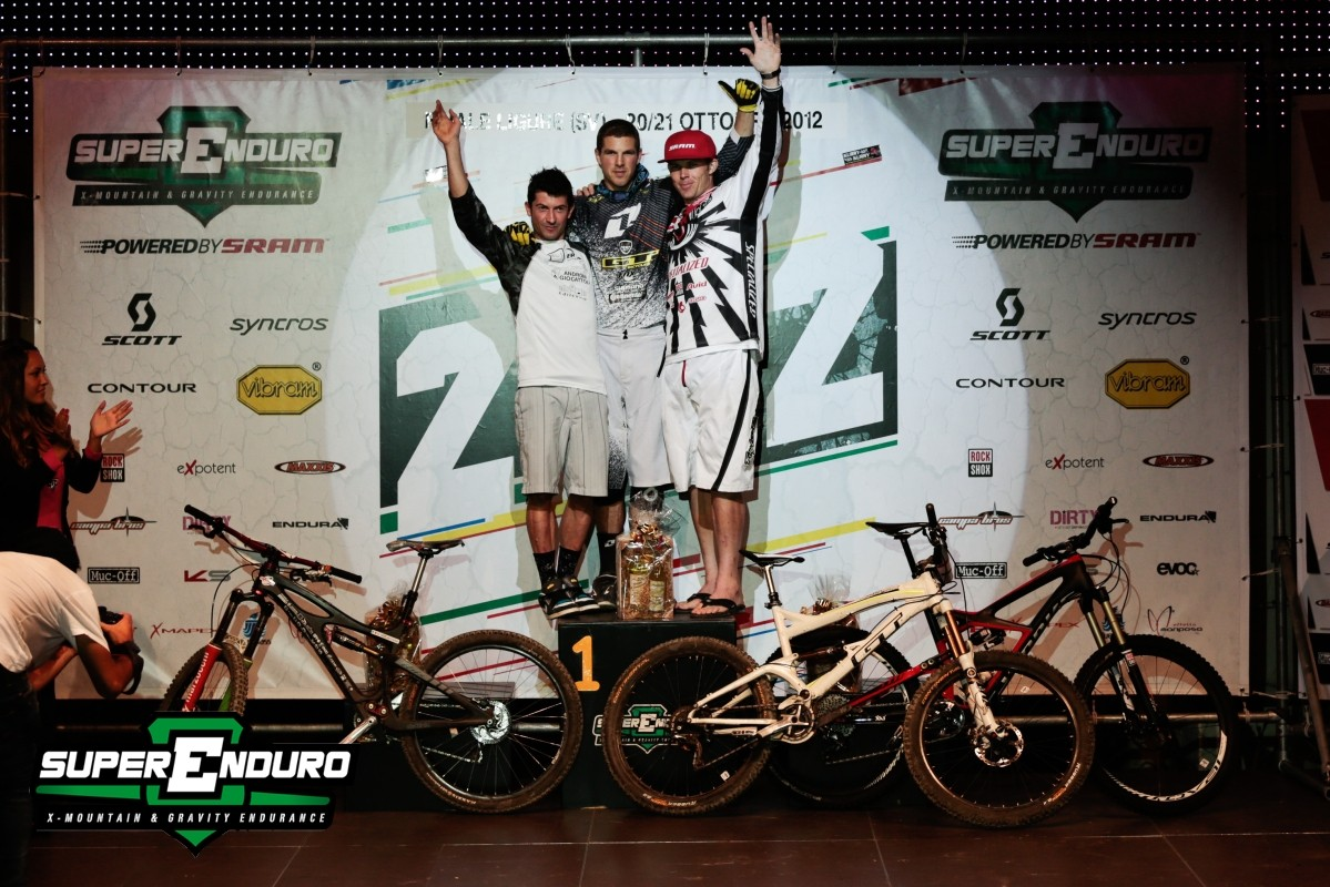 England, Italy, and the USA - Superenduro/Finale Ligure Podium - Superenduro PRO6 at Finale Ligure - Mountain Biking Pictures - Vital MTB