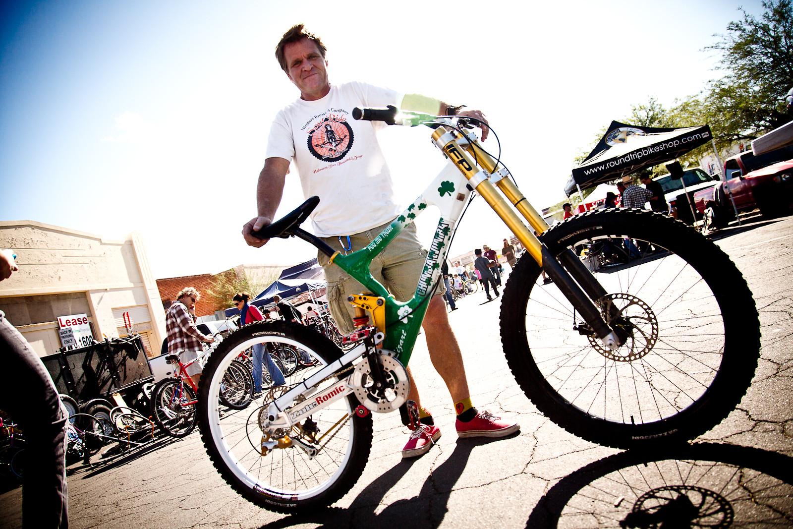 #ThrowbackThursday - Rob Bauer's 2001 Chumba Wumba Zulu - bturman - Mountain Biking Pictures - Vital MTB