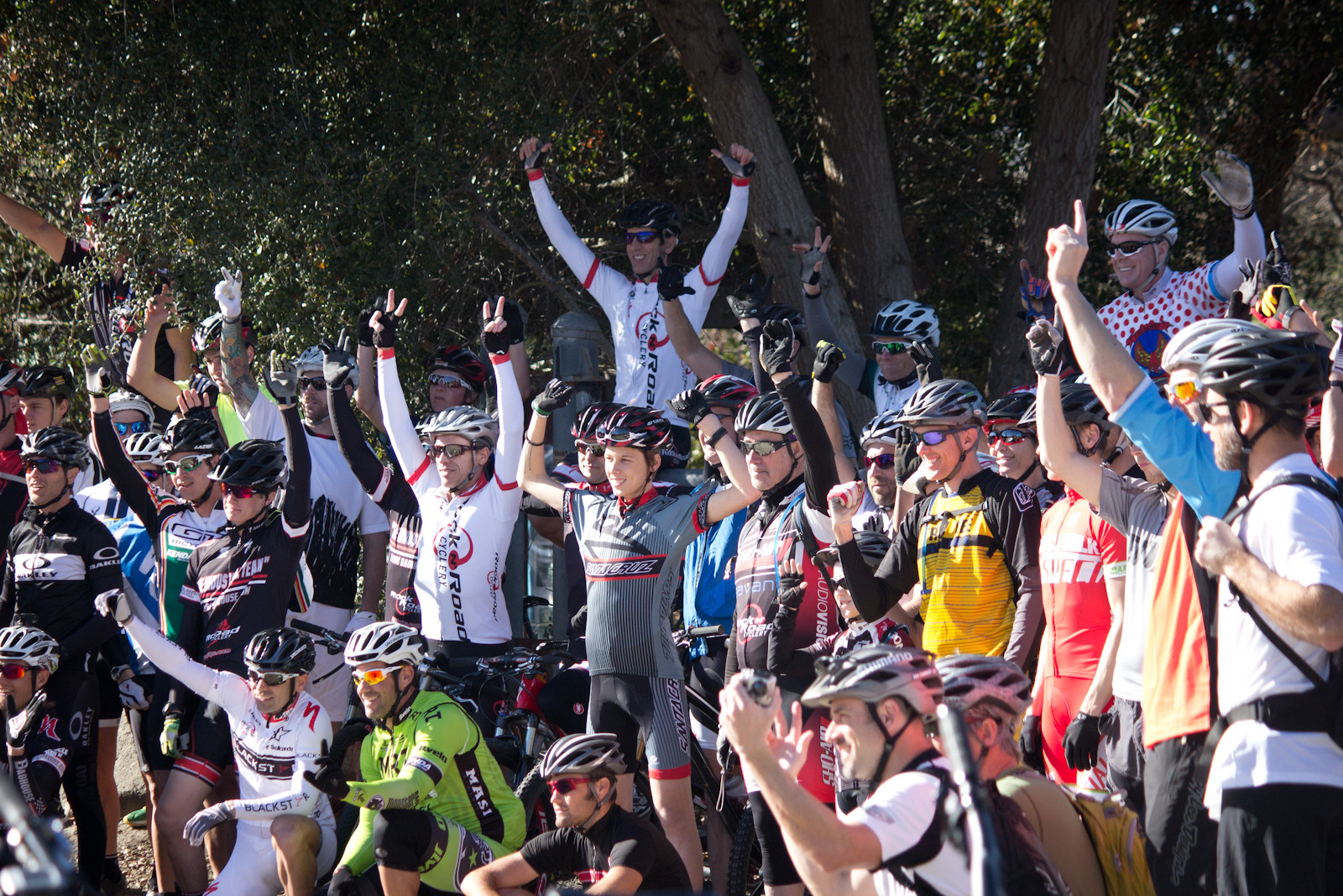 Mega Crew! - Specialized A1 Ride Daze - In Memory of Burry Stander - Mountain Biking Pictures - Vital MTB